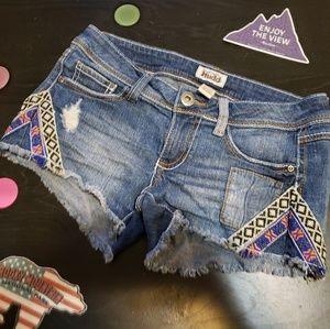 Mudd size 3 designed shorts
